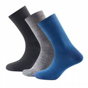Devold Daily Light Sock 3-pack Flerfärgad