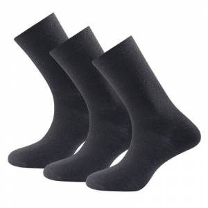 Devold Daily Light Sock 3-pack Svart