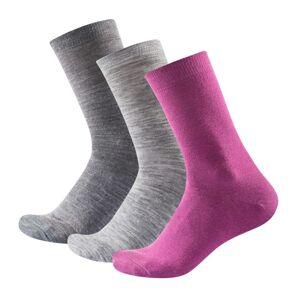 Devold Daily Light Sock 3-pack Flerfärgad