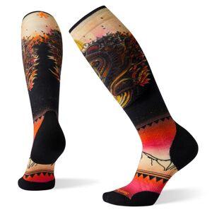 Smartwool Women's PhD Ski Light Elite Print Socks Flerfärgad