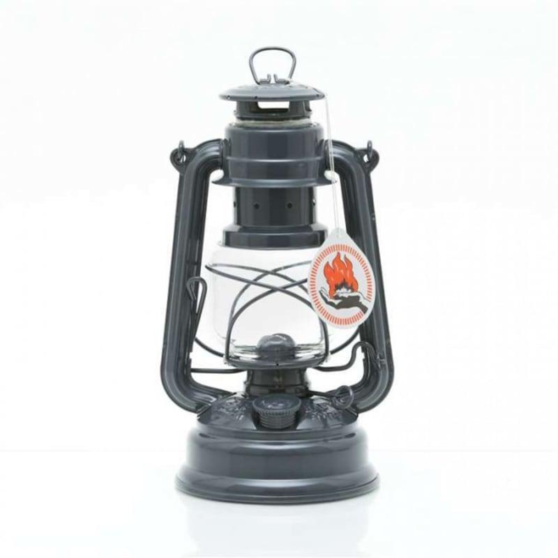 Feuerhand Hurricane Lantern 276 Grå