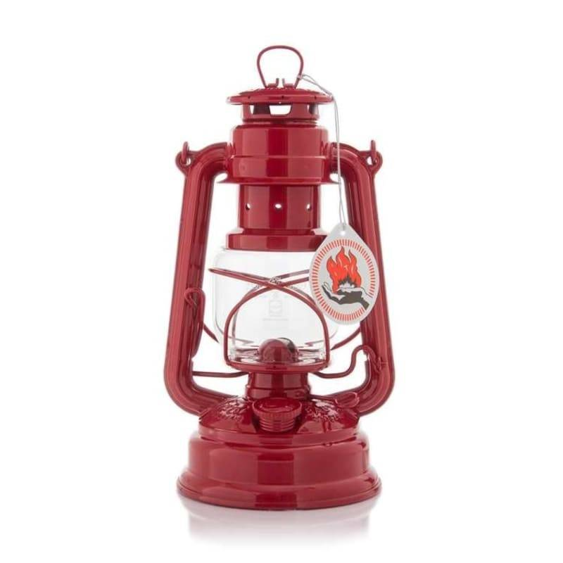 Feuerhand 276 Hurricane Lantern Röd