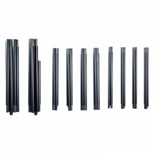 Nordisk Midgard 20 Aluminium Pole Set Grå