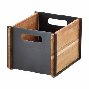 Cane-Line Box låda Lavagrå/teak