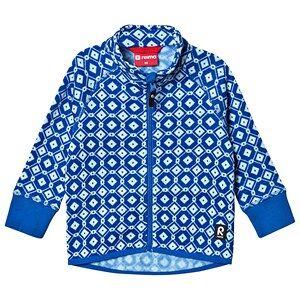 Reima Ornament Fleece Jacka Brave Blue 80 cm (9-12 mån)