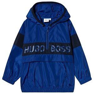 BOSS Logo Pull-Over Vindbrytare Blå 5 years