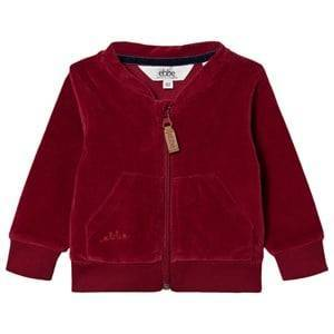 ebbe Kids Jamone Zip Tröja Cherry Red 80 cm (9-12 mån)