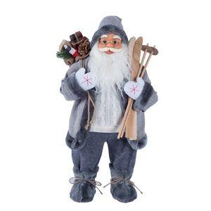 Grå Jultomte 61cm