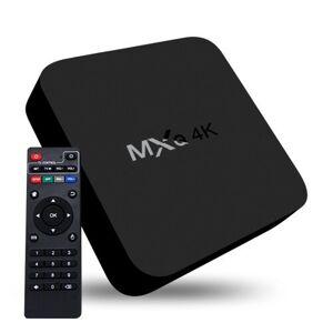 4K Full HD Mediaspelare RK3229 med fjärr - HDMI, WiFi, Miracast, DLNA