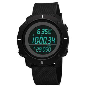 Digital Armbandsklocka Svart
