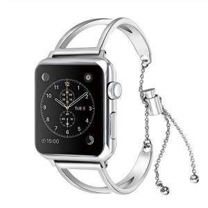 Apple Armband Metall V till Apple Watch 38mm -Silver