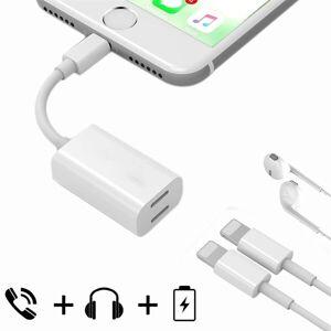 Apple Headset- och ljudadapter för iPhone 8 / 7/ 7 Plus - för hörlur och laddkabel