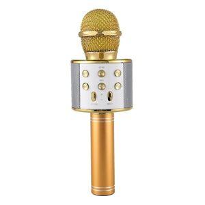 Apple Karaokemikrofon Bluetooth Guld