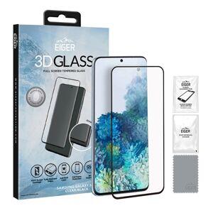 Samsung Eiger 3D Tempererat Skärmskydd Samsung Galaxy S20 Klar/Svart