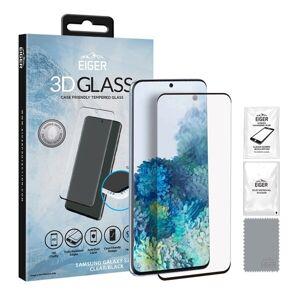 Samsung Eiger 3D CF Tempererat Skärmskydd Samsung Galaxy S20+ Klar/Svart