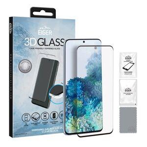 Samsung Eiger 3D CF Tempererat Skärmskydd Samsung Galaxy S20 Ultra Klar/Svart