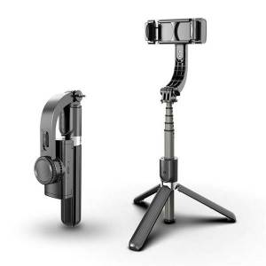Apple Selfiestick med Gyroskop stabilisator för mobiltelefon