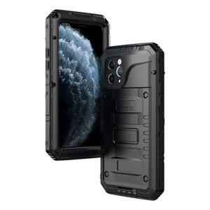 Apple Skyddsskal Metall+Silikon iPhone 11 Pro, Svart