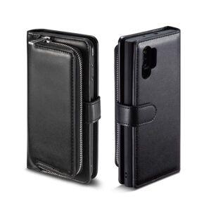 Samsung Plånboksfodral med myntfack Samsung Galaxy Note 10+, Svart