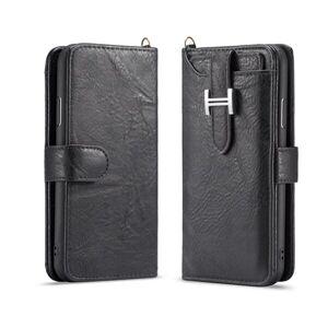 Apple Plånboksfodral med spänne iPhone XR, Svart