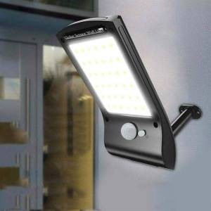 Solcellslampa med rörelsevakt - 36 LED 280LM