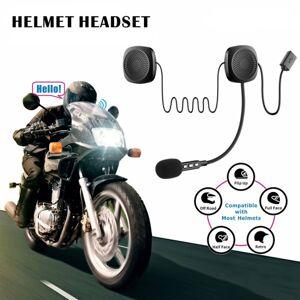 Motorcykel Bluetooth Intercom Headset med mikrofon