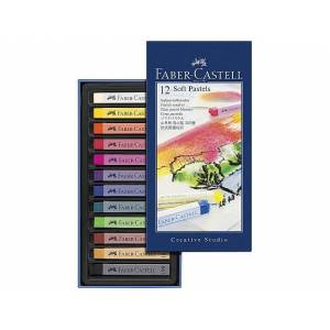 Creative Studio Pastellkrita mjuk 12 färger