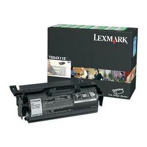 Lexmark Toner LEXMARK T654X11E svart