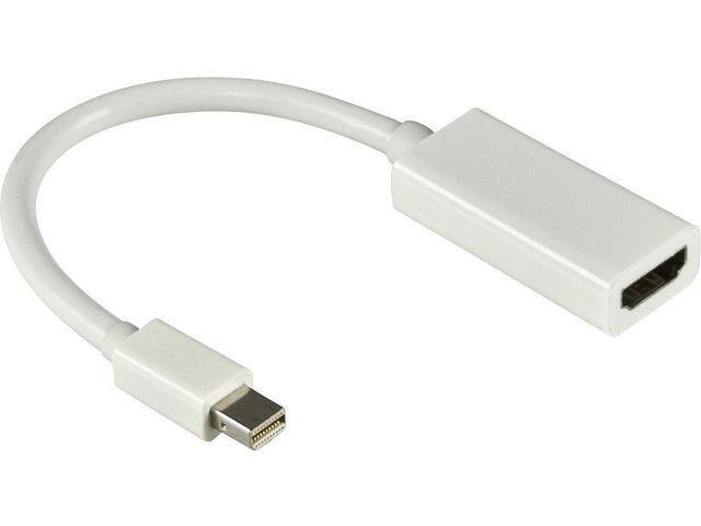 Deltaco Adapter DELTACO Mini DisplayPort-HDMI ha-ho 0,2m