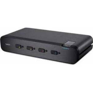 Belkin Advanced Secure UHD Dual-Head DisplayPort KVM Switch with