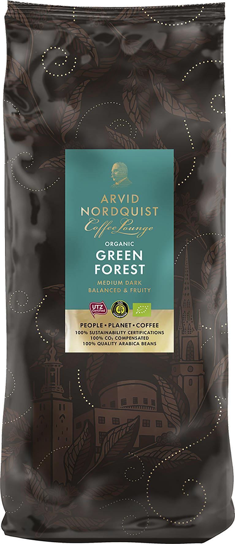 Kaffebönor Green Forest 6X1Kg