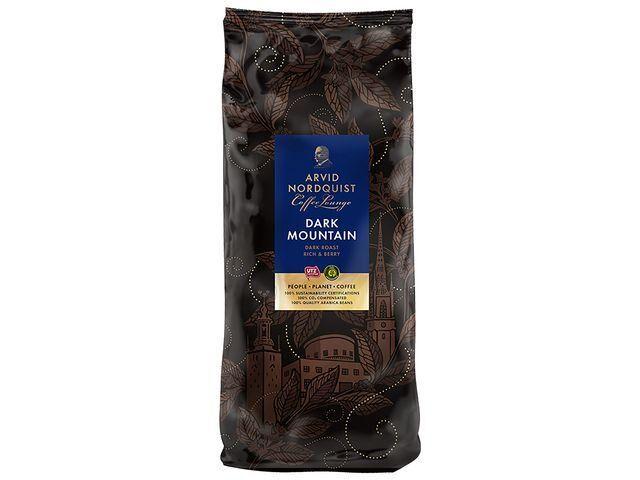 Kaffe Arvid Nordquist Dark Mountain hela bönor 1kg