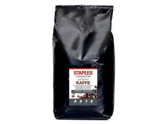 Kaffe STAPLES Premium Bönor 1kg