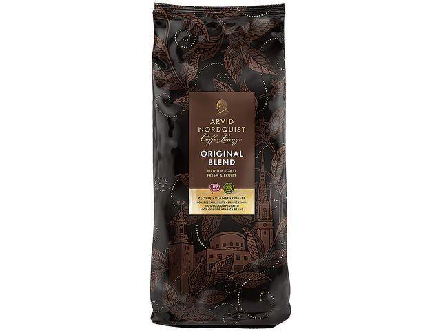 Kaffe Arvid Nordquist mellanrost automat 1kg malet 6frp