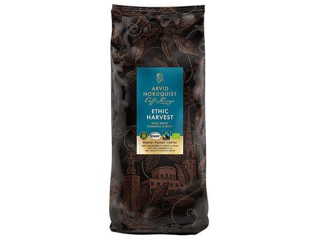 Kaffe Arvid Nordquist Ethic Harvest hela bönor 1kg 6frp