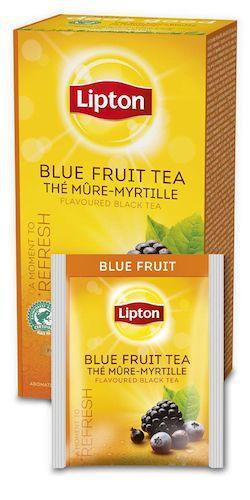 Te Lipton Blue fruit, påse, 25st