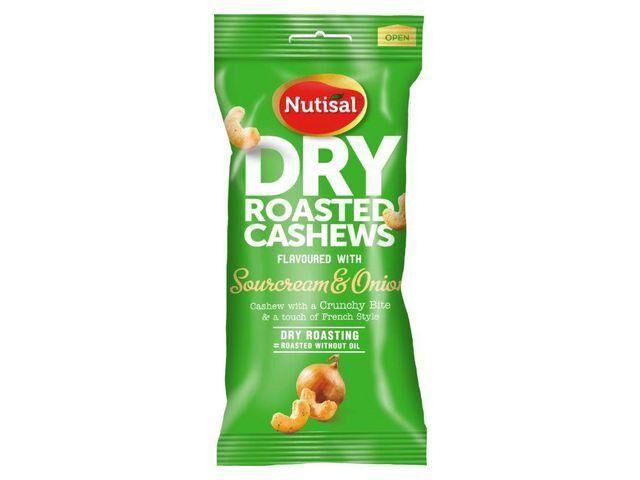 Nötter Cashew sour cream & onion, 60g