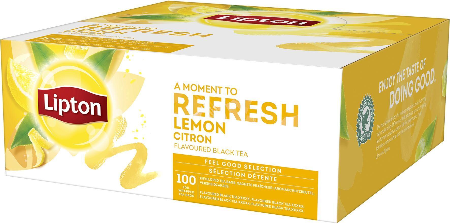 Te Liptons Lemon        100/fp