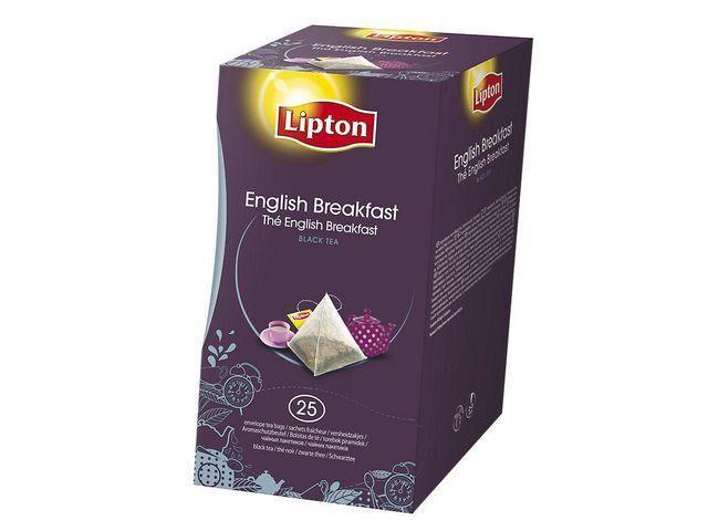 Pyramid Te Lipton Pyramid Påse English Breakfast, 25st