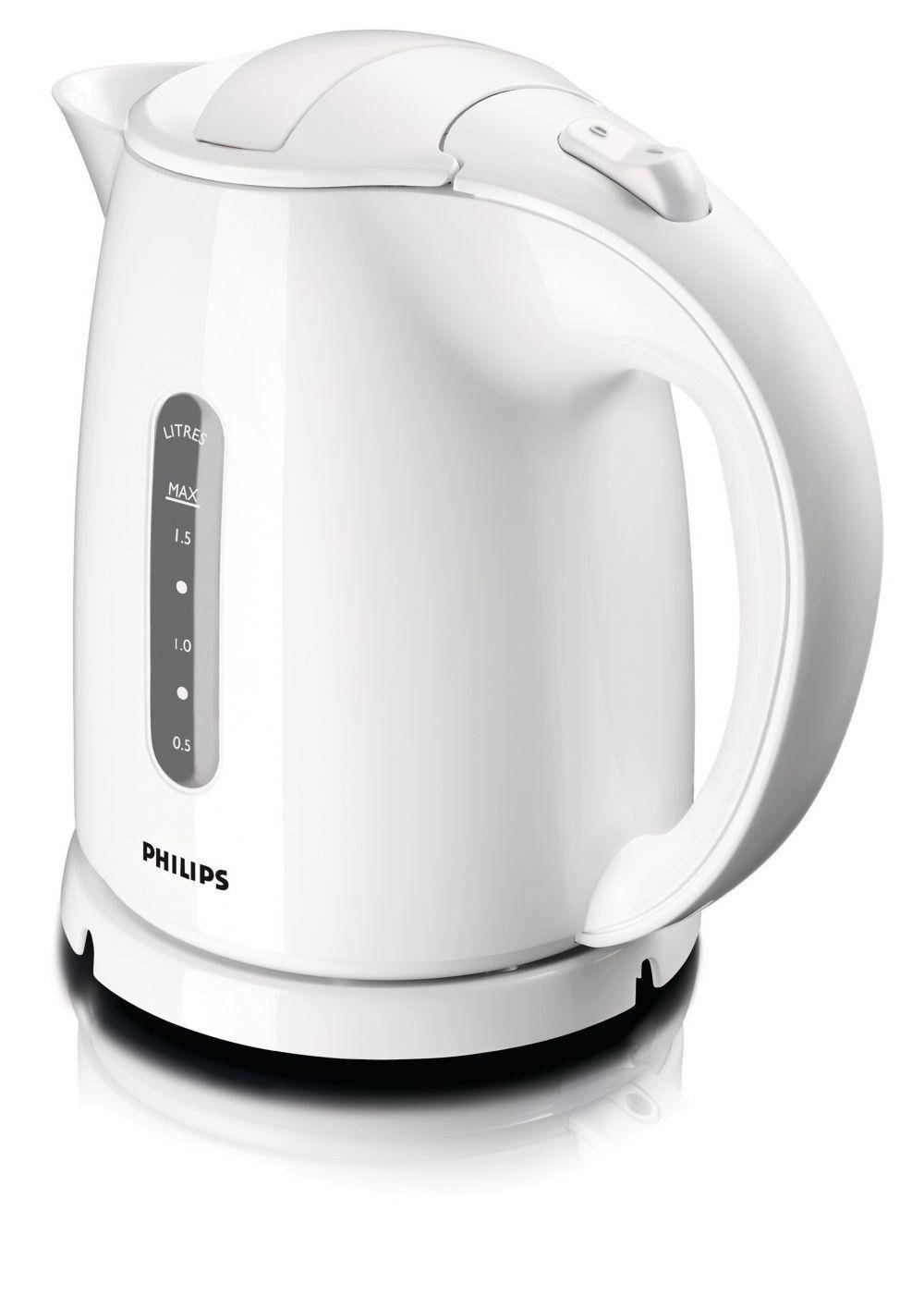 Philips Vattenkokare Philips HD4646 Vit, 1,5L