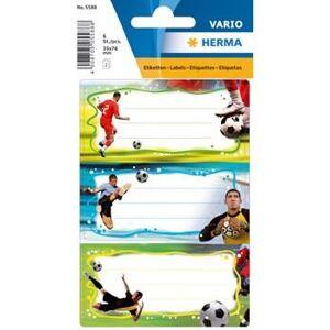 Herma stickers Vario skolboks fotboll (2) 10st