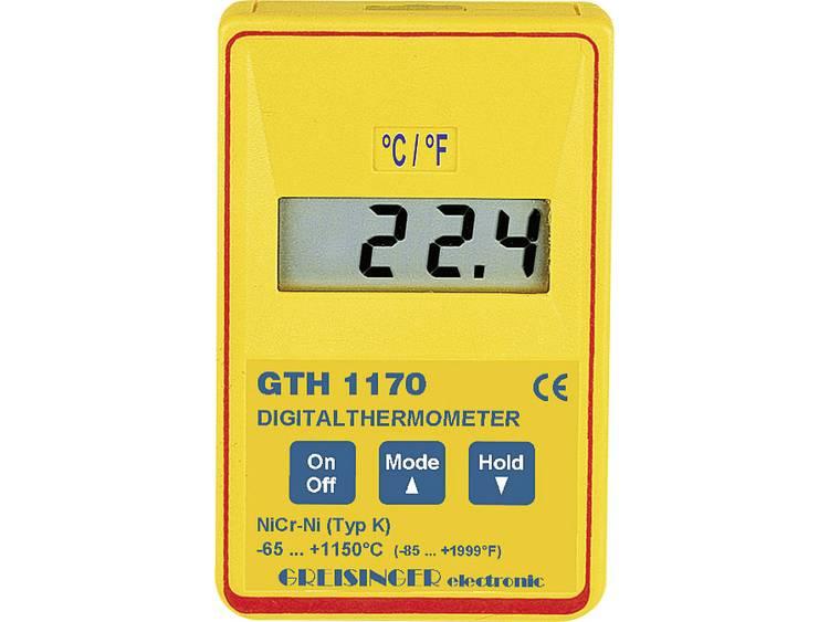 Greisinger GTH 1170 - GTF 900 - WPT Temperaturmätare -65 till +199.9 °C  Sensor K Kalibrerad enligt  Fabriksstandard (med certifikat) 444ab998f5215