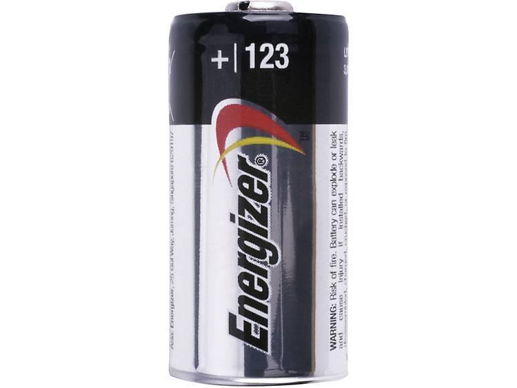 Energizer Fotobatteri CR123A Litium Energizer CR123 1500 mAh 3 V 1 st