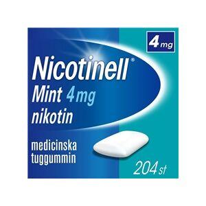 Nicotinell Tuggummi 4mg (Läkemedel) 204 st/paket