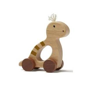 Kids Concept Dino På Hjul Natur Neo
