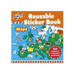 Galt Stickerbok Kartor