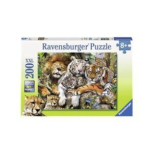 Ravensburger Pussel XXL 200 Bitar Big Cat Nap