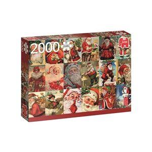 Jumbo Pussel 2000 Bitar Vintage Santa