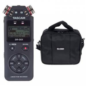 Tascam DR-05X Bag Bundle