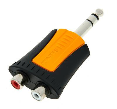 Seetronic MP3-2RF Adapter 6,35mm 2x RCA